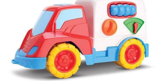 Caminhão Encaixes Turma Da Mônica Samba Toys