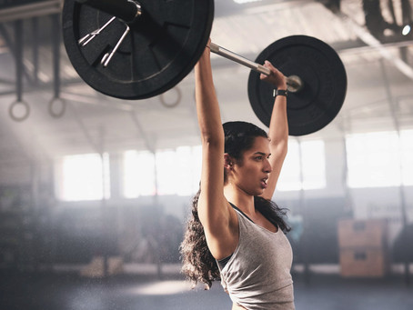 Lifting Weights May Give You the Lift You Need