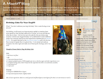 Gryphon Mastiffs - A Mastiff Blog on Pintrest