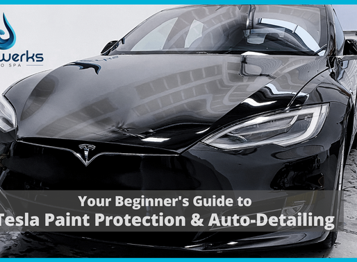 Your Beginner's Guide to Tesla Paint Protection and Auto-Detailing