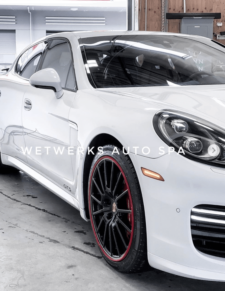 Wetwerks Auto Spa Vancouver Panamera GTS Auto Detail Interior and Exterior Maintenance Detail (Vancouver, B.C)