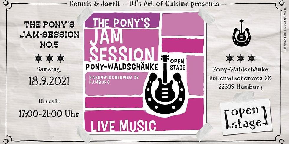 #5 The Pony's Jam Session