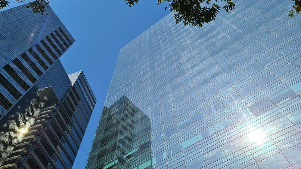 Imagem das Torres do Parque da Cidade, empreendimento comercial em São Paulo (SP)