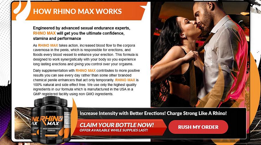 HOW RHINO MAX WORKS