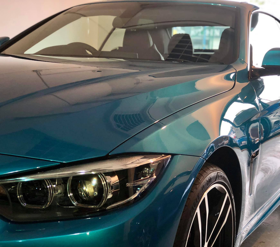 BMW birmingham car detail