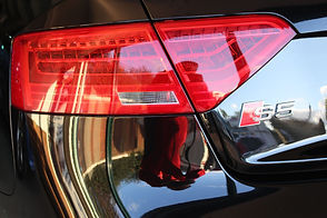 Paint enhanced headlight audi s5.JPG