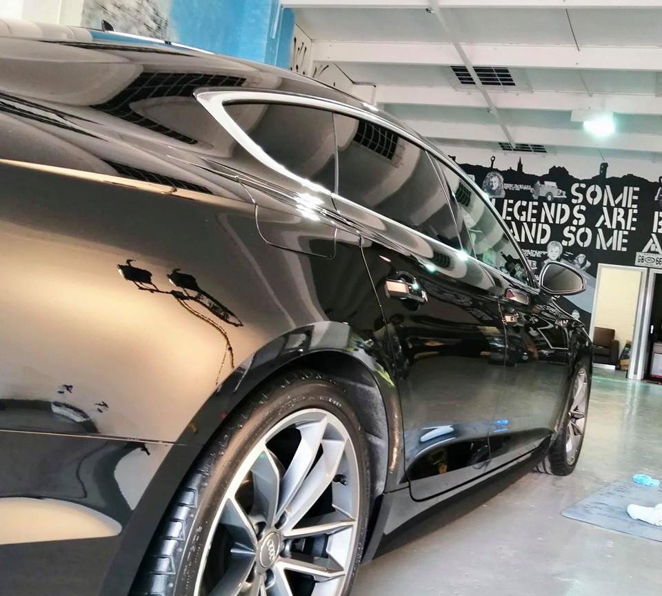 Audi car detail in birmingham