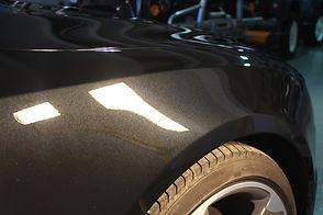 Audi S5 wheelarch paint correction