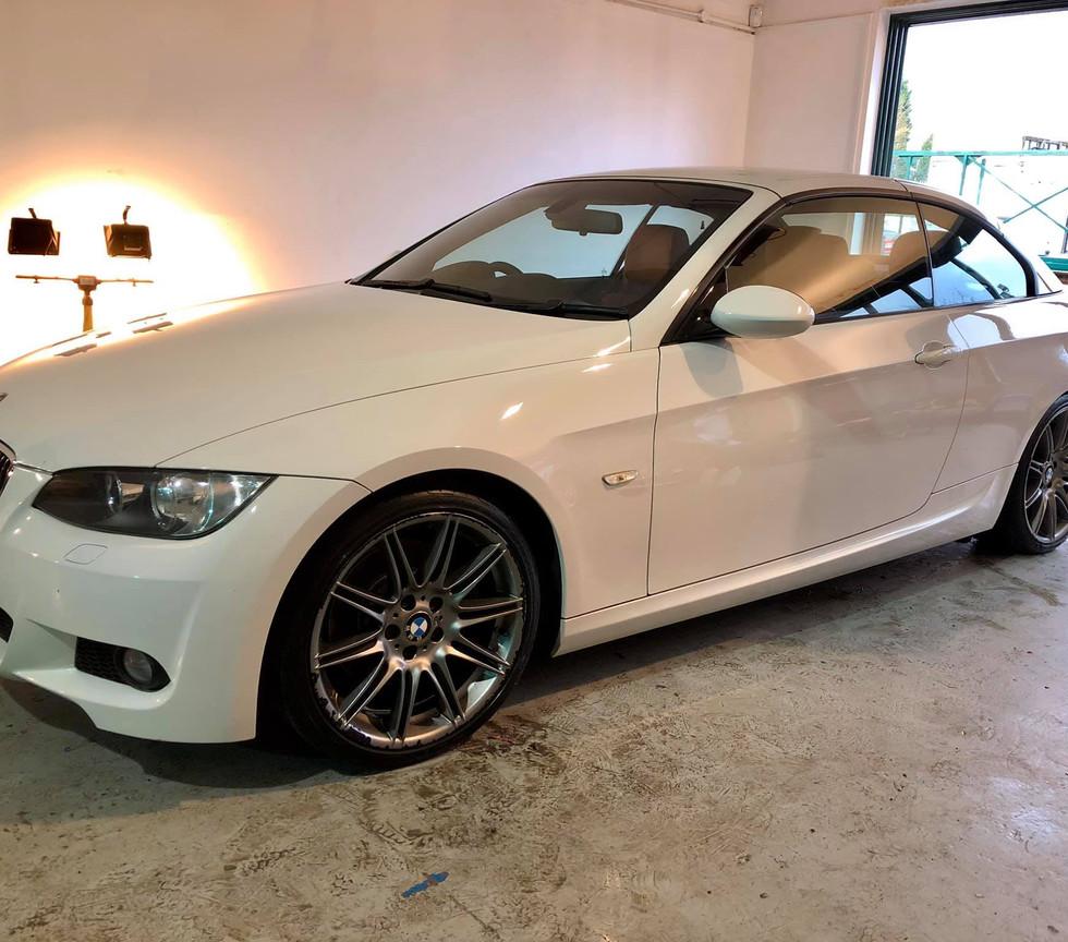 BMW car detail