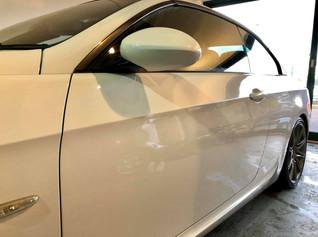 BMW 330 Paint Correction