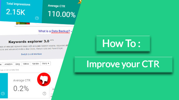 How to improve your CTR