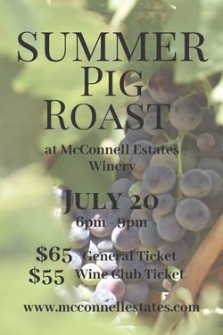 Summer Pig Roast (Postcard)
