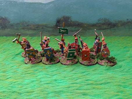 Showcase! Germanic Tribe For SPQR Part 1 The Nobles