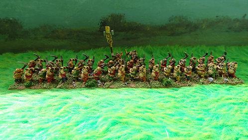 15mm Dwarf Miner Army