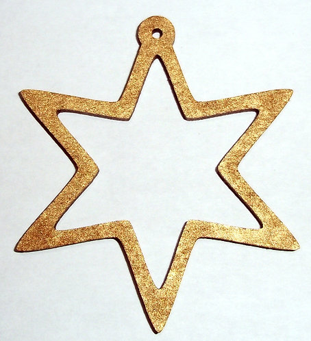 Six Pointed Star Baubles