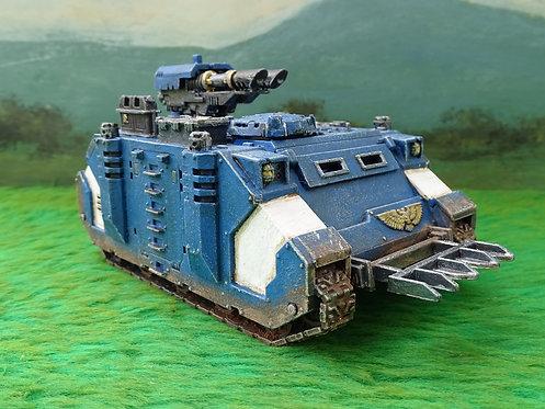 Warhammer 40k Ultramarine Razorback with Twin Lascannon
