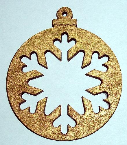 Snowflake Baubles