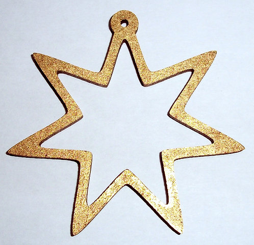 Seven Pointed Star Baubles