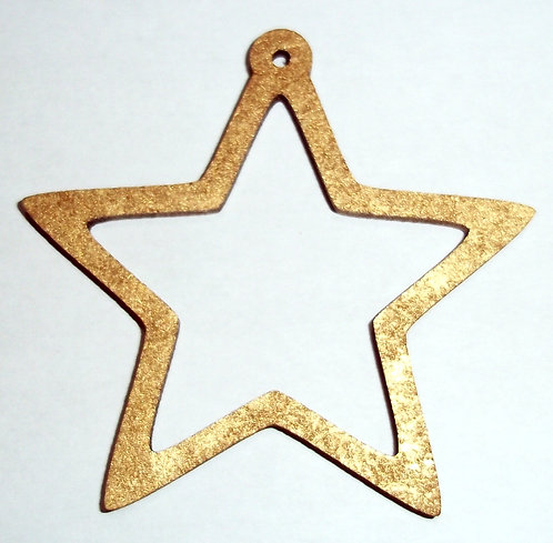 Five Pointed Star Baubles