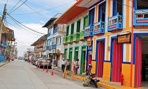 Kolumijská koloniální architetura