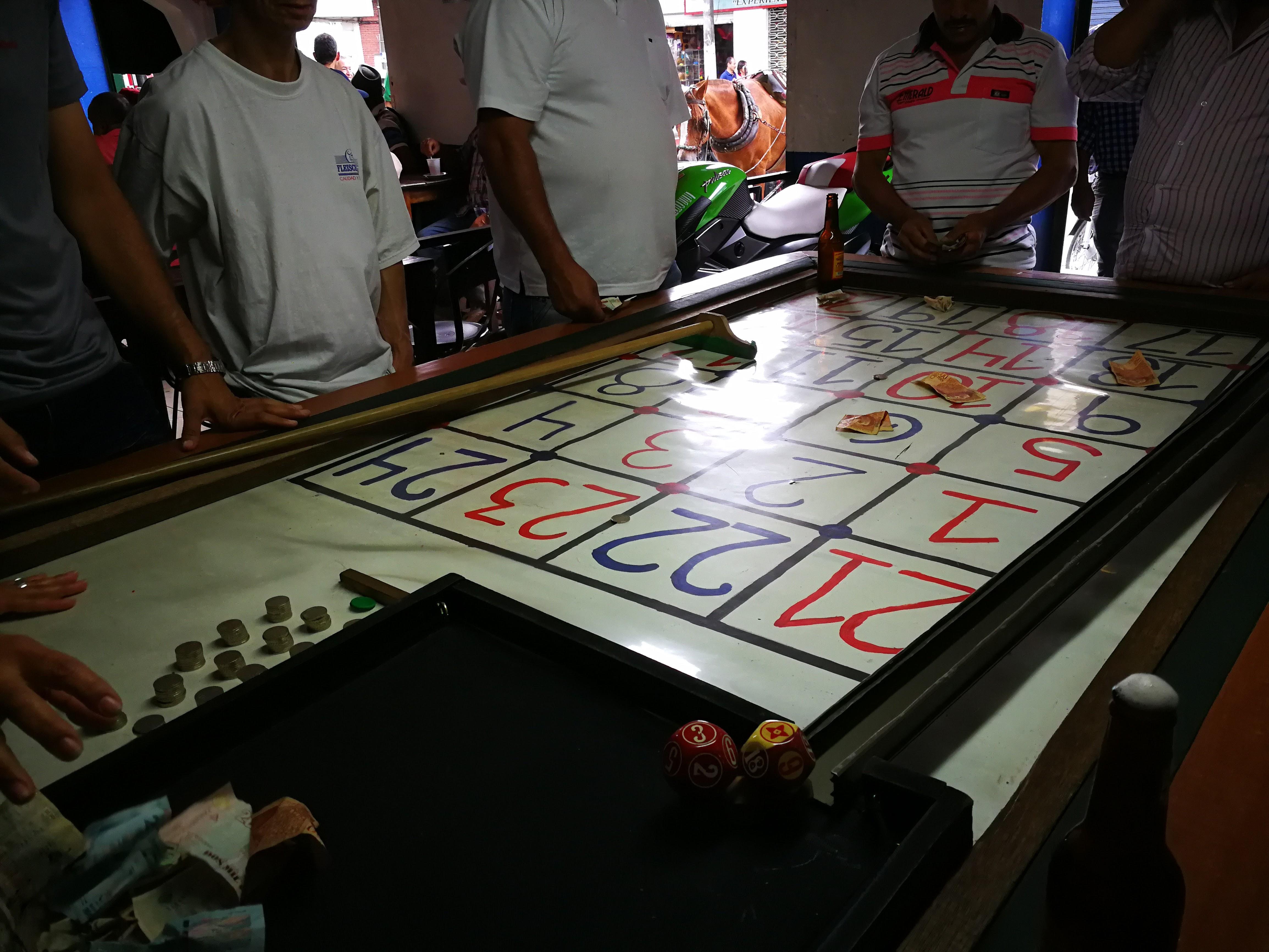 Handmade roulette