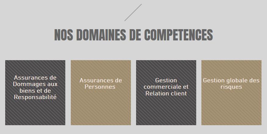 Nos domaines de compétences et les formations | ACCESS FORMATION - FORMATION PROFESSIONNELLE EN ASSURANCES
