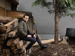 RUPERT FRIEND - Shooting with Frank Bauer for the Guardian Weekend
