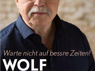 """WOLF BIERMANN - Covershooting for his autobiography """"Warte nicht auf bessere Zeiten"""""""