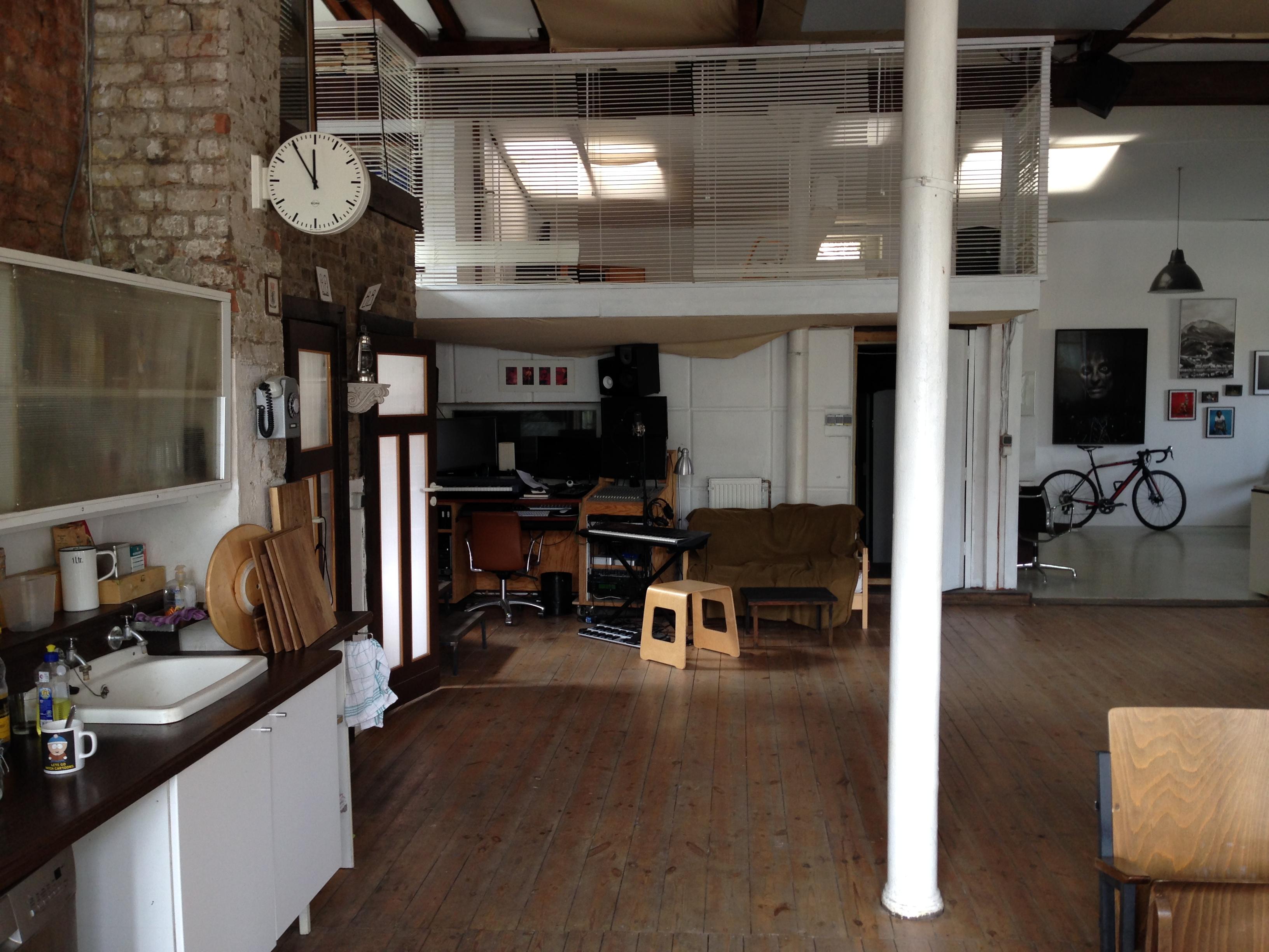 kitchen - studio view