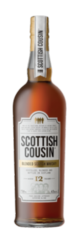 Scottish Cousins Blended Scotch Whisky 12 Year