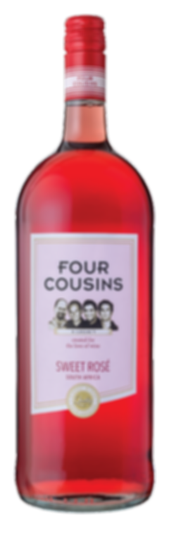 Four Cousins Sweet Rosé 1.5