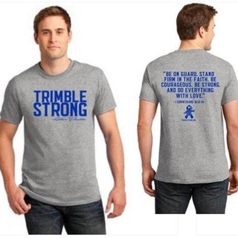 Gray Trimble Strong Tee