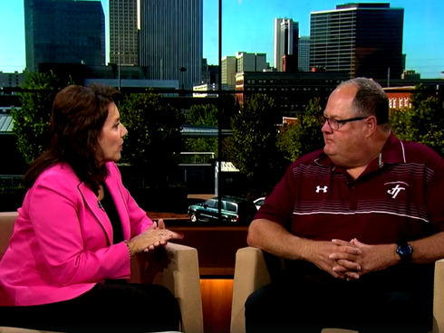 Coach Trimble talks about A Night of Legacy