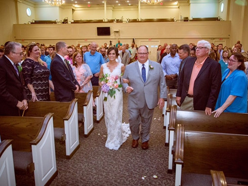 Walking Down the Aisle - Tylar's Magical Day