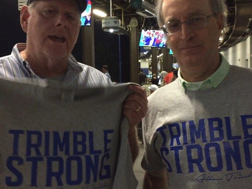 Bill & Big Al - Rocking their Trimble Strong
