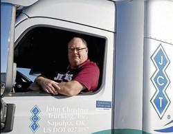Coach Trimble Rose Parade Truck Photo TW Cropped 2