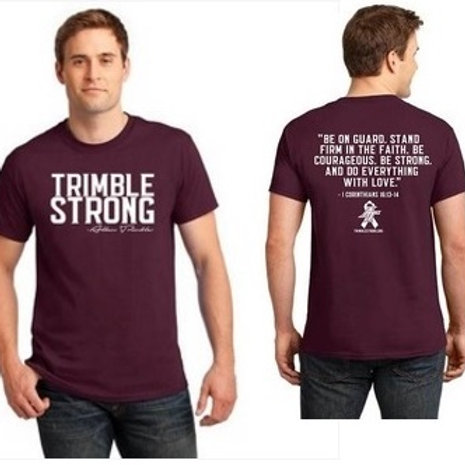 Maroon Trimble Strong Tee