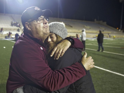 Non-committal about his future, Jenks' Allan Trimble emotional after defeat