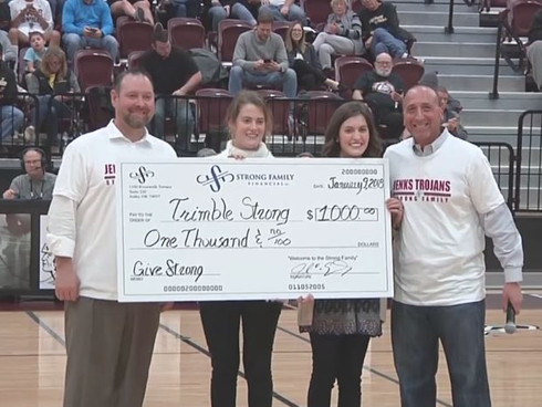 Strong Family Financial Donation