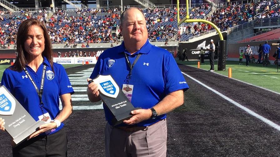 Coach Trimble MVC Award IN Florida