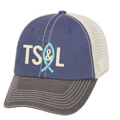 Through Salt & Light Truckers Cap