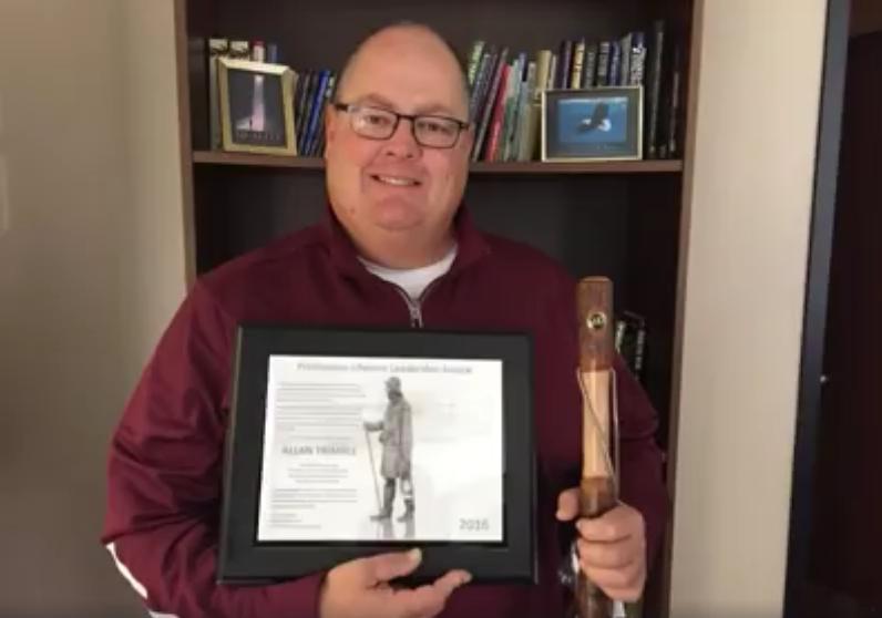 Coach Trimble Providence Lifetime Achievement Award