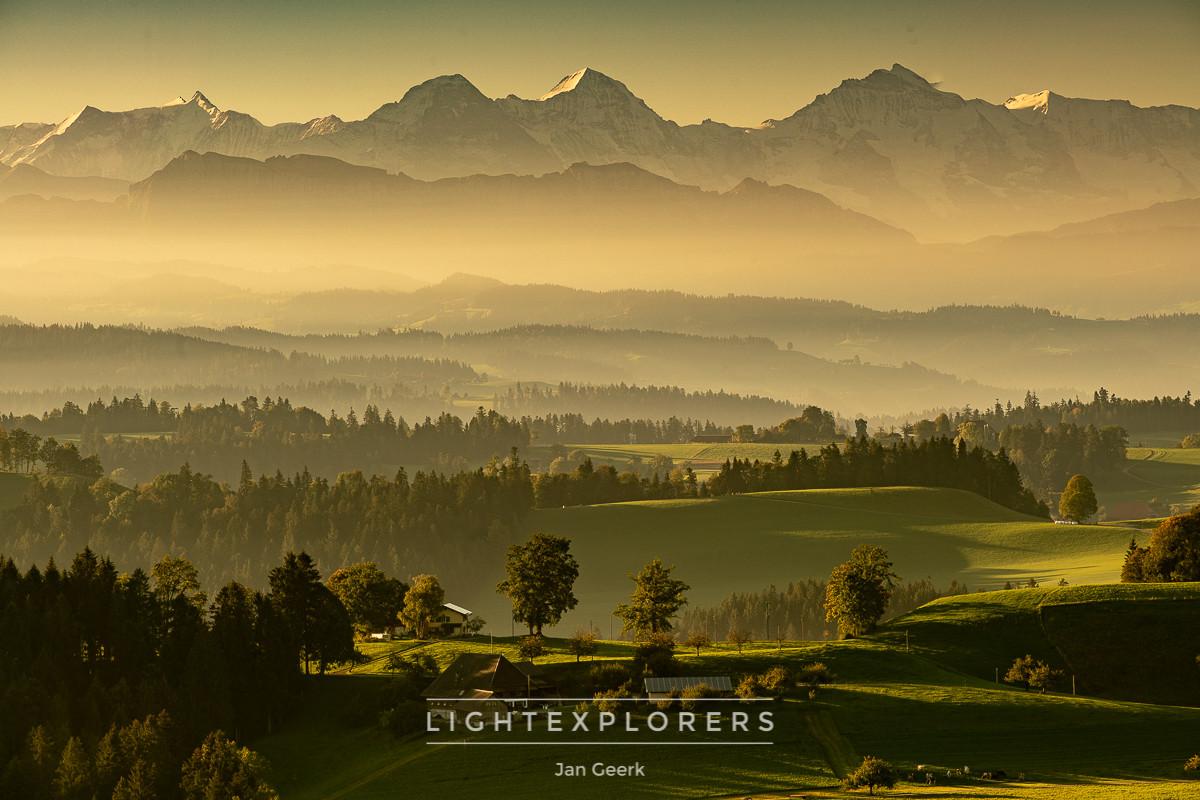 Emmental-Nebel-Dunst-Alpen
