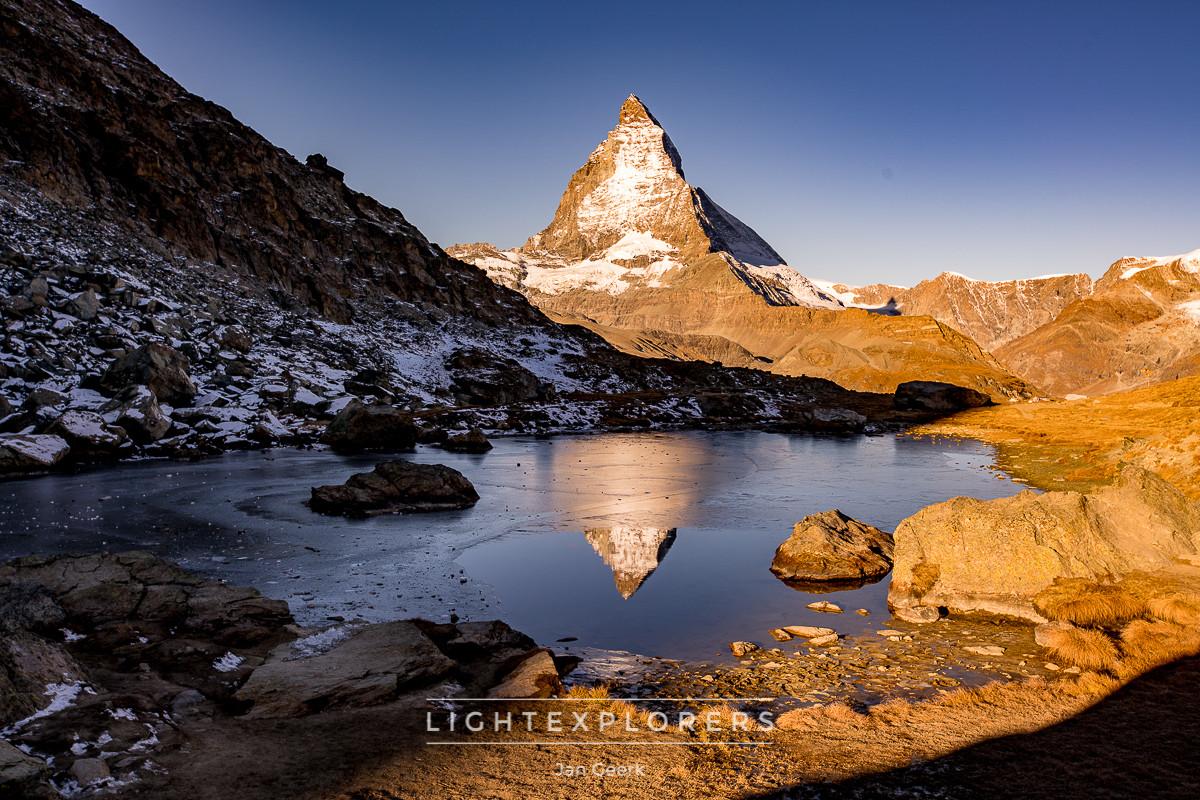 Zermatt-Matterhorn-Spiegelung