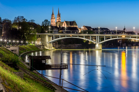 Basel-Stadt-Nacht-Münster