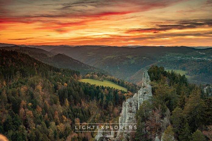 Herbstlicher Jura