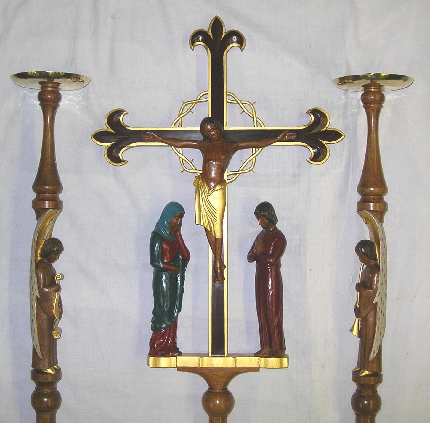 Cross and Candlesticks