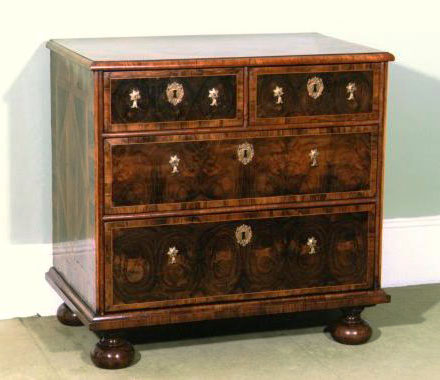17thC Olivewood Chest of Drawers