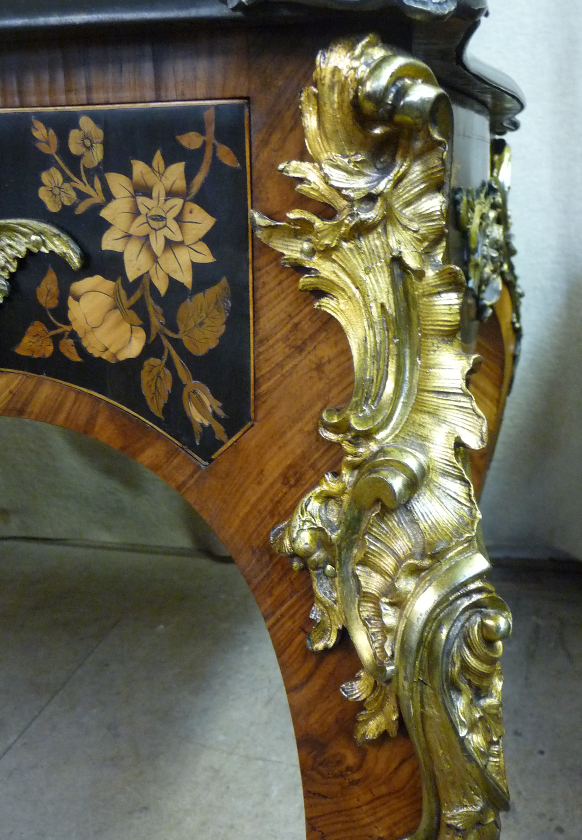 Library Table with Gilt mounts