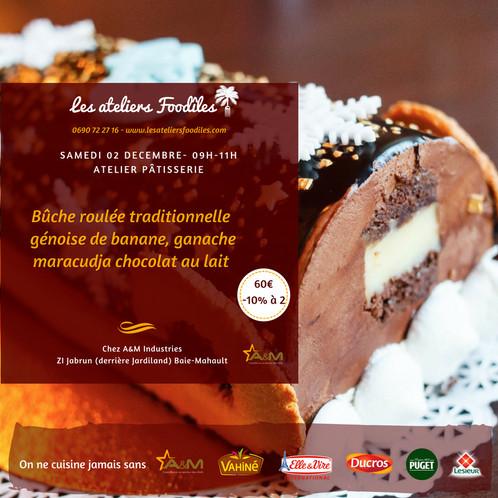 Atelier Bûche Les Ateliers Foodîles Cours De Cuisine En Guadeloupe - Cours de cuisine en guadeloupe